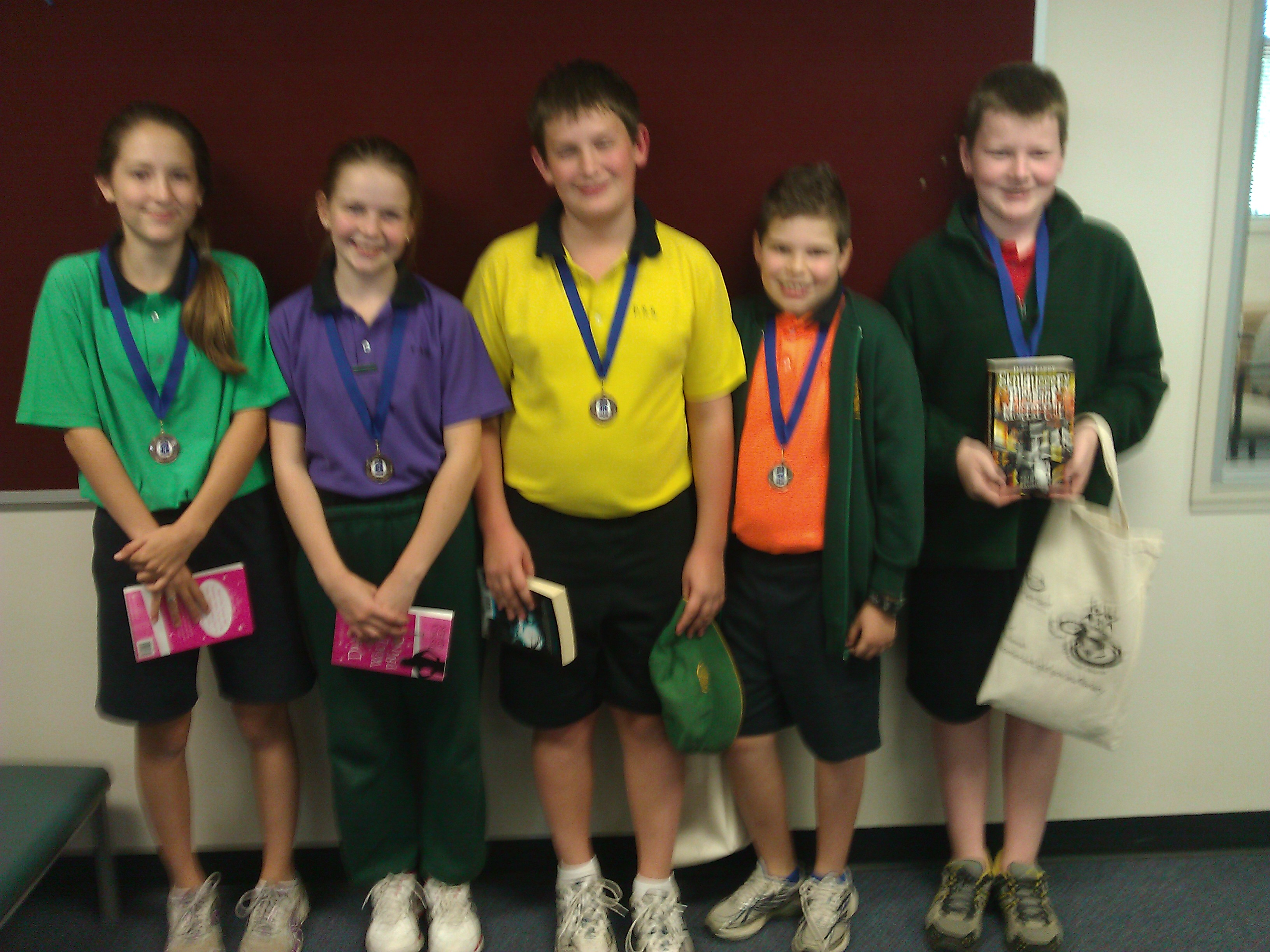 Fernvale third at Reader's Cup