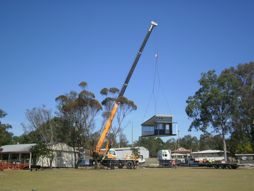 New demountable building arrives