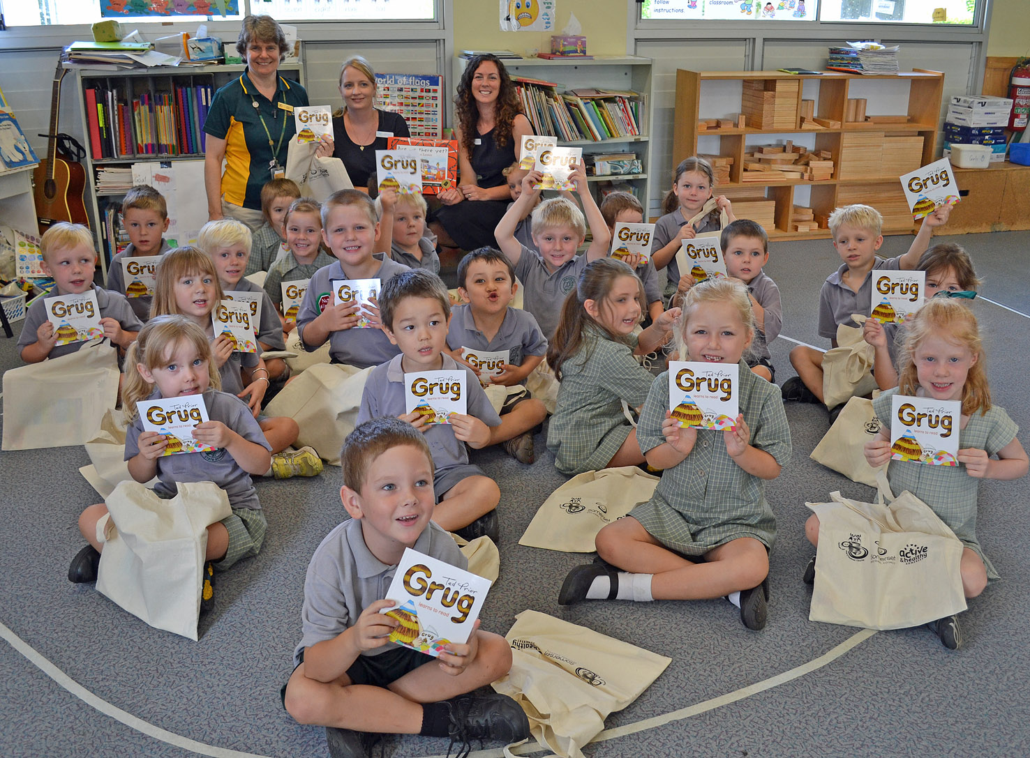 Fernvale prep students launch National Year of Reading